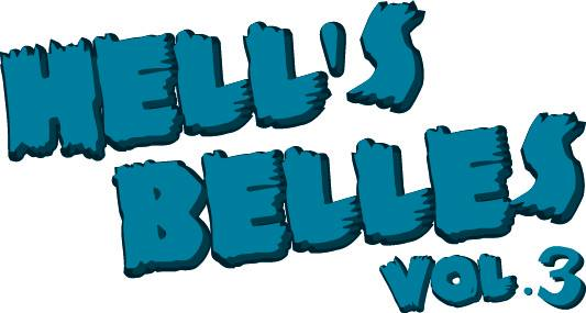 Hell's Belles 2013 logo Illustration by Adrienne Hawkes